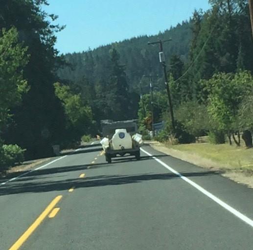 BLT water trailer en route