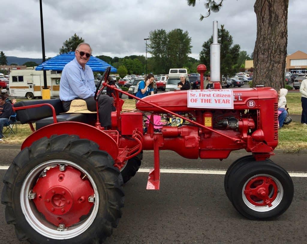 Photo of Jim McKinnon, Senior First Citizen