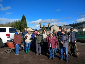 2019-02-05 Trail work day group