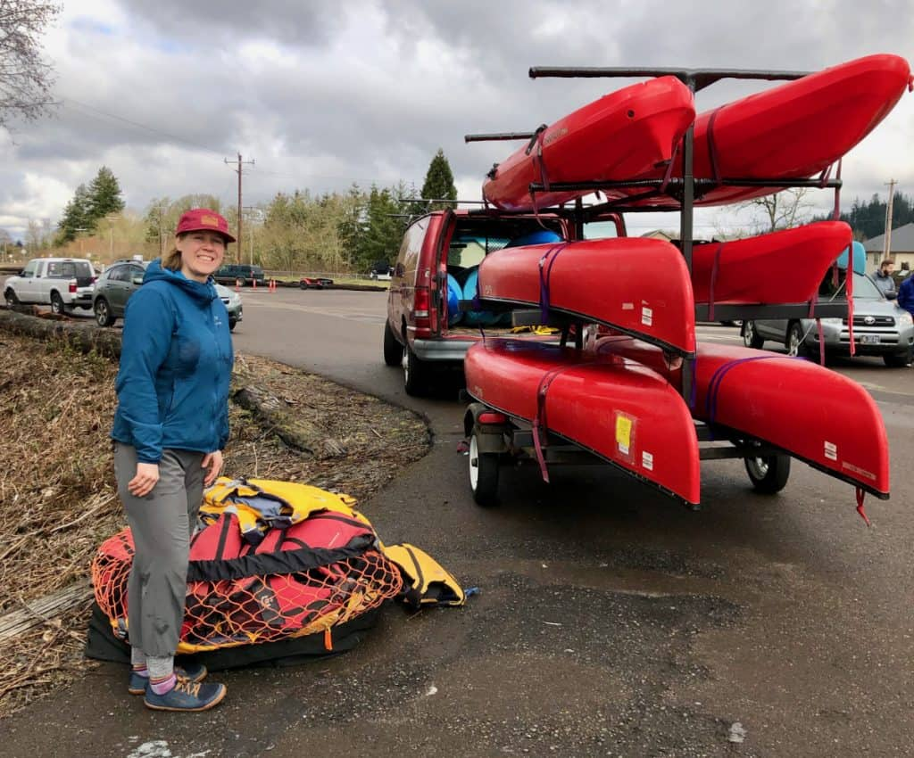 2019-03-09 Amber from Peak Sports at Cheadle Lake Paddle