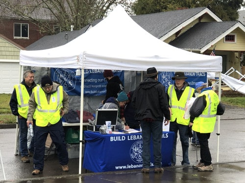 2019-12 BLT booth and volunteers