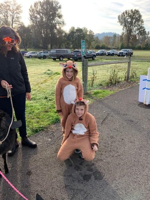 2019 October kids in costume