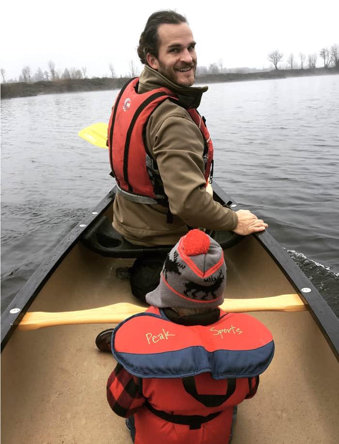 Bryn O'Malley Cheadle Lake Paddle shot