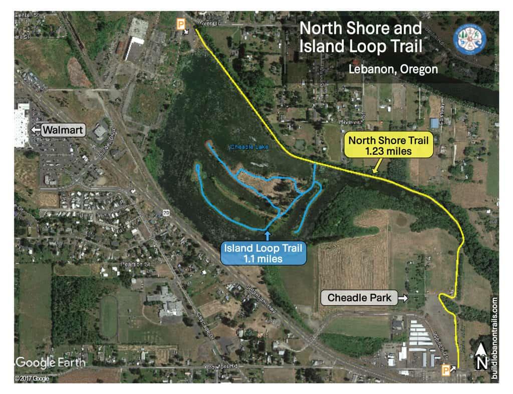 North shore and island loop walk