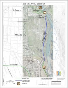 Planned Old Mill Trail