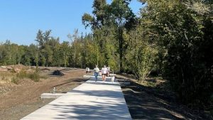 Old Mill Trail, almost complete